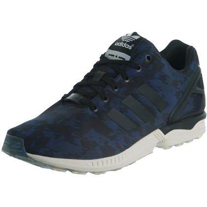 Coole dunkelblaue Sneaker von Adidas. Die Sneaker mit Muster begeistern mit außergewöhnlichem Design und Torsion-Sohle. -  ab 89,90 €