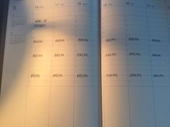 Before you start doing any actual work you have to make a revision timetable. | 21 Things All Students Do During Exam Time