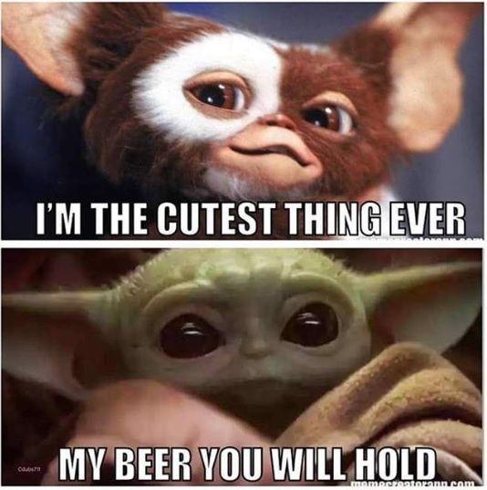 17 Baby Yoda Memes To Save You From The Dark Side Yoda Meme Yoda Funny Star Wars Jokes