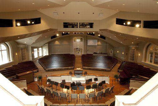 Church Sanctuary Design Interior View Of Sanctuary From