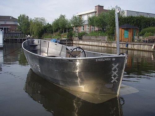aluminium reddingssloep steelfish 90pk snelvarend snelle sloep