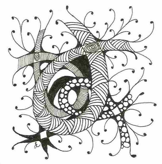 tangle - love the openness