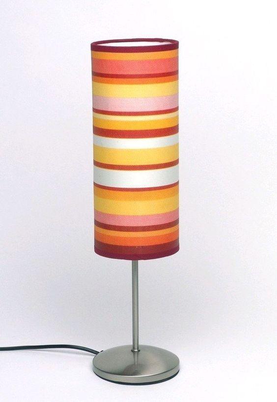 BRILLIAN DESIGN TISCHLEUCHTE ROMA Gelb / Orange Für 17,95 EUR