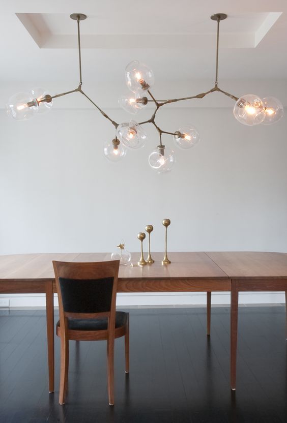 Lindsey adelman 10 globe branching bubble light - Tree branch ceiling light ...