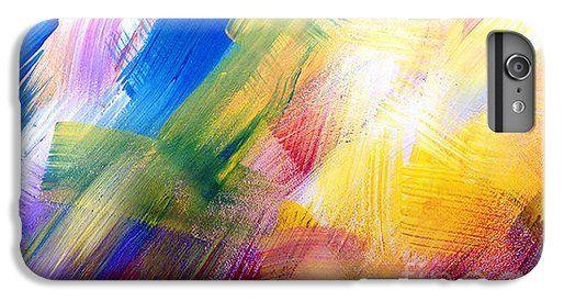 Color Explosion 9 iPhone 6 Plus Case by Gale Patterson.