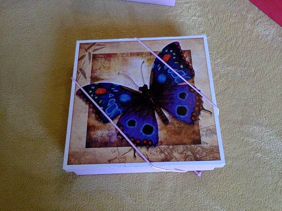 Mariposas moradas, buena suerte muy linda.