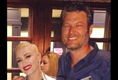 Gwen Stefani Supports Blake Shelton at His Hometown Concert