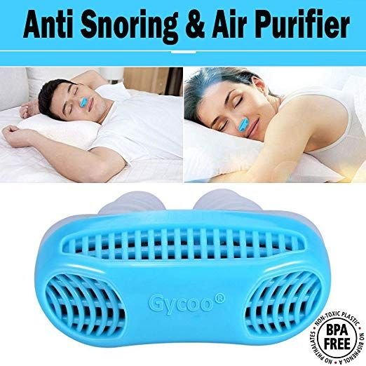 Anti Snoring Solution By Gycoo Stop Snoring Devices Air Purifier Cpap Snore Stopper Nose Vents For Comfortable Snoring Solutions Snoring Filter Air Purifier