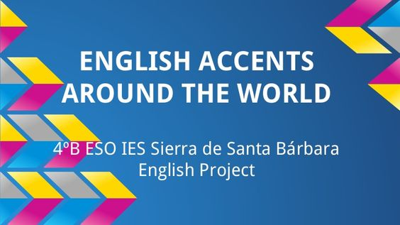 English accents all around the world. Diaporama.