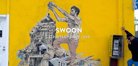 SWOON - STREETART SINCE 1999