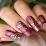 Prom and party Latest nail art designs 2012-2013