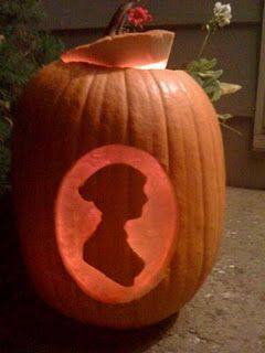 Jane Austen pumpkin: