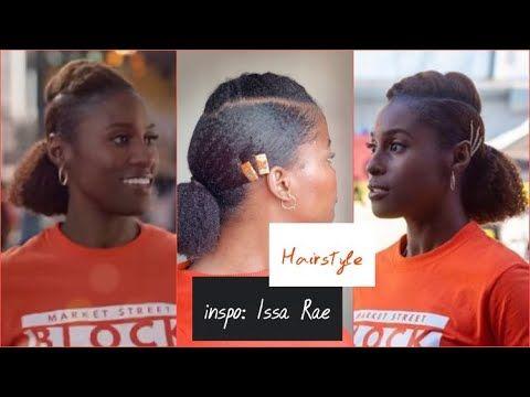Coiffure Facile Et Rapide Sur Cheveux Crepus Inspiration Issa Rae Youtube En 2020 Coiffure Facile Et Rapide Coiffure Facile Cheveux Crepus