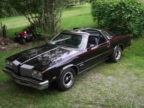 1977 Oldsmobile Cutlass Supreme T-TOP | sport cars | Pinterest ...