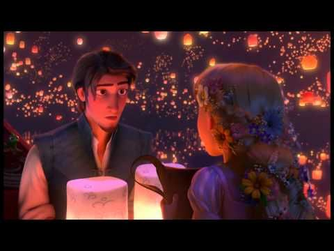 Tangled--LOVE this movie! My favorite part! <3 <3 <3