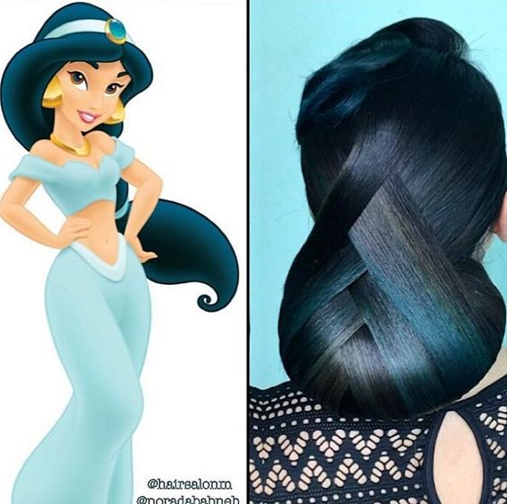 Disney Inspired Hair Fit for a Princess: Jasmine
