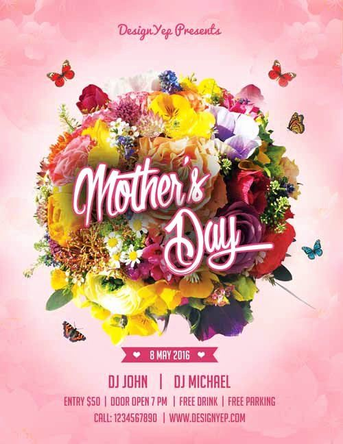 Mother Day Flyer Template Free Best Of Happy Mothers Day Free Flyer Psd Template Free Psd Flyer Templates Free Flyer Templates Psd Flyer Templates