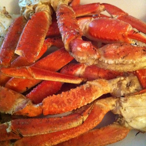Snow crab legs, Crab legs and Crabs on Pinterest