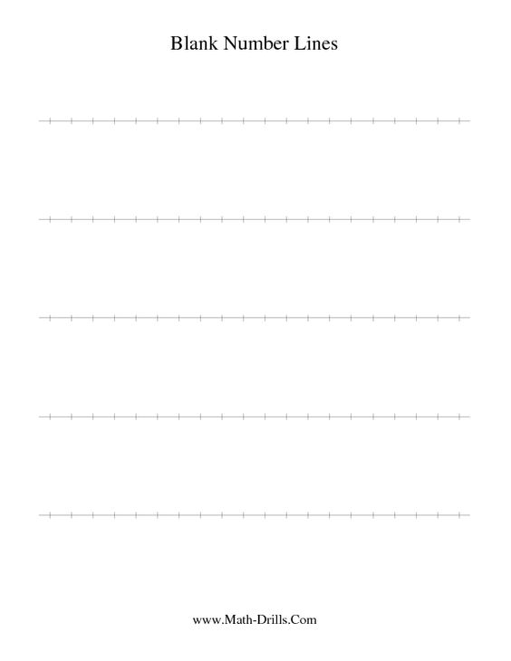 math worksheet : number sense worksheet  blank number line  math  pinterest  : Math Number Sense Worksheets