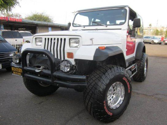 Sport Utility 1992 Jeep Wrangler 4wd With 2 Door In Santa Ana Ca