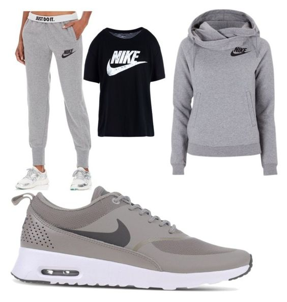 """Nike"" by jason-becz ❤ liked on Polyvore featuring NIKE, men's fashion and menswear"