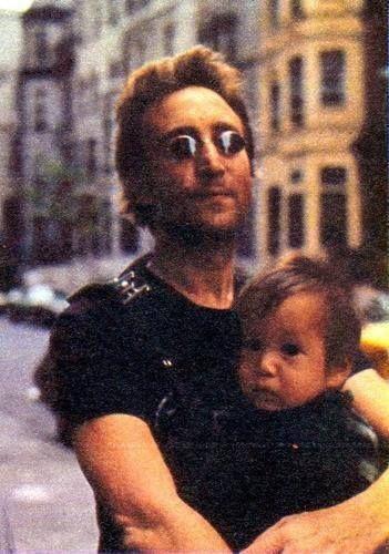 John and Sean Lennon