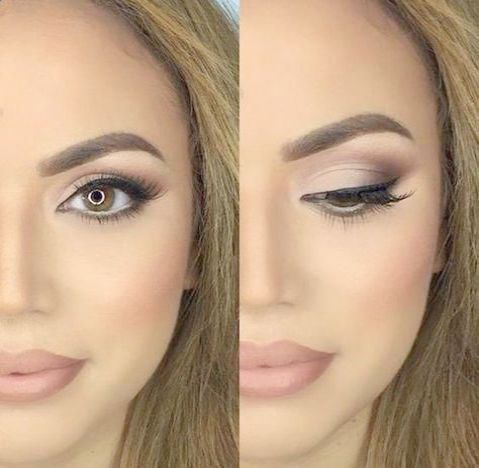 Eye Makeup For Brown Eyes Blonde Hair Lot Makeup Moisturizer Review Routine Tinted Makeup Routine Lo Bridal Makeup For Brown Eyes Hair Hair School Looks