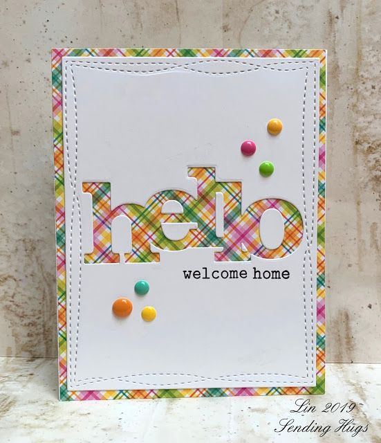 Welcome Neighbor Card Making Paper Crafts Cards Card Craft
