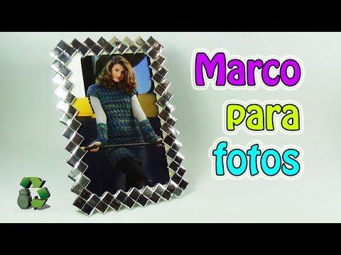 187 manualidades como hacer marco para fotos con bolsas de sabritas reciclaje ecobrisa - Manualidades marco fotos ...
