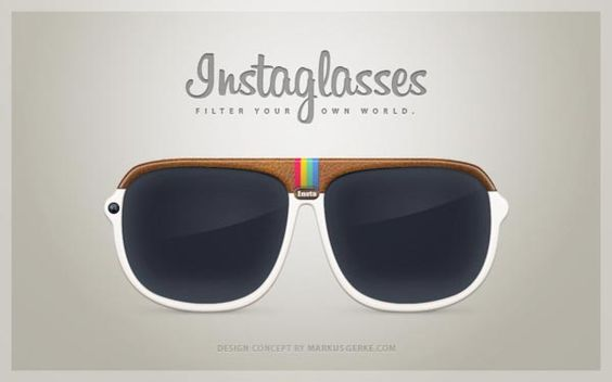 "Instaglasses is an amazing Instagram inspired design concept designed by Markus Gerke from Berlin. As we can see from the images, Instaglasses looks more like a pair of sunglasses that features an Instagram icon-like frame, and most importantly, the sunglasses comes with a built-in 5.0-megapixel camera that allows you to take photos at any time via its ""Insta"" button, moreover, the integrated Instagram app lets you choose your favorite filters for your photos, and instantly upload to your Instag: Design Concepts, Awesome Instaglasses, Images Instaglasses, Camera, Cody Instaglasses, Instaglasses Jejejeje, Instaglasses Awesome"