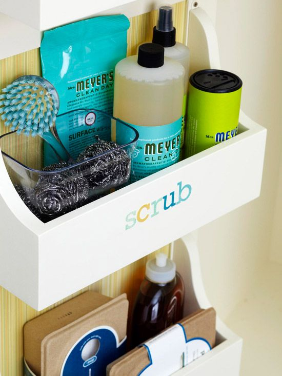 Love the labels, colors and organization!