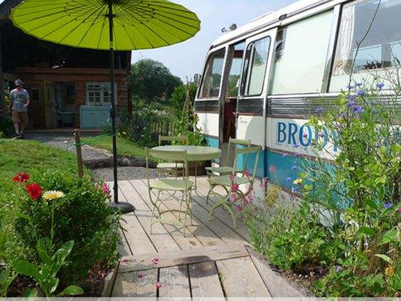 Hidden Inside This Old Bus is a Cozy and Charming Hotel