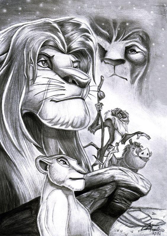 The Lion King by Daviskingdom.deviantart.com on @deviantART