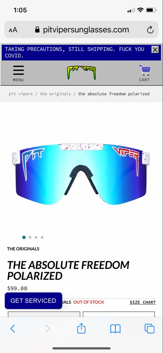 The Absolute Freedom Polarized Pit Viper Sunglasses Pit Viper Sunglasses Pit Viper Viper