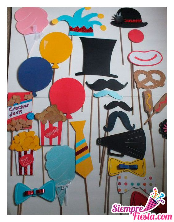 Ideas para fiesta de cumplea os tem tica de circo y - Cosas para fiestas de cumpleanos ...