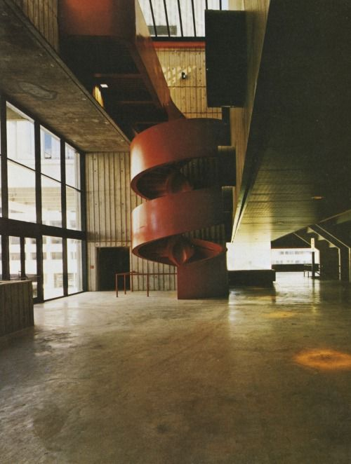 Broome County Cultural Center Binghamton New York 1973 ELS Architects