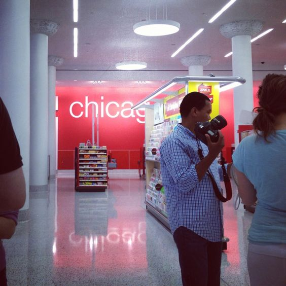 Sneak Peak of @TargetCHI on state st.