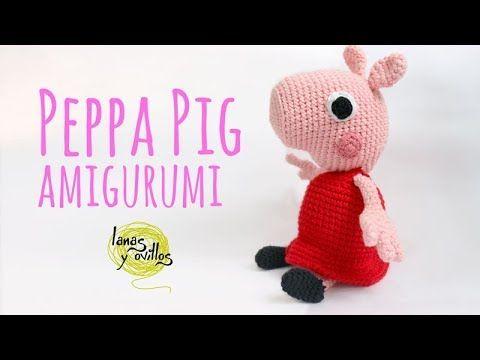 Tutorial Peppa Pig Amigurumi In English Lanas Y Ovillos In English Youtube Crochet Pig Peppa Pig Toys Peppa Pig