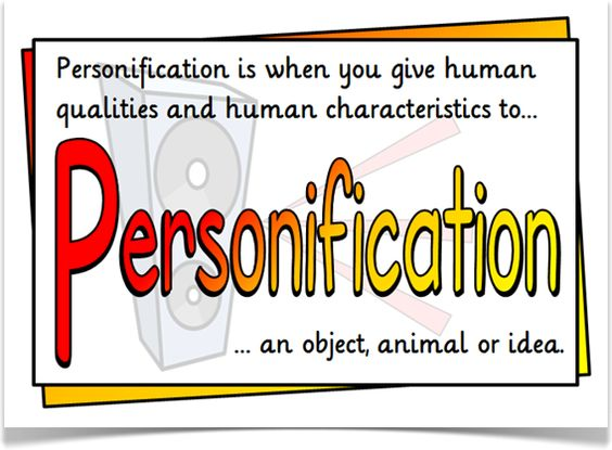 How would you prove Personification?