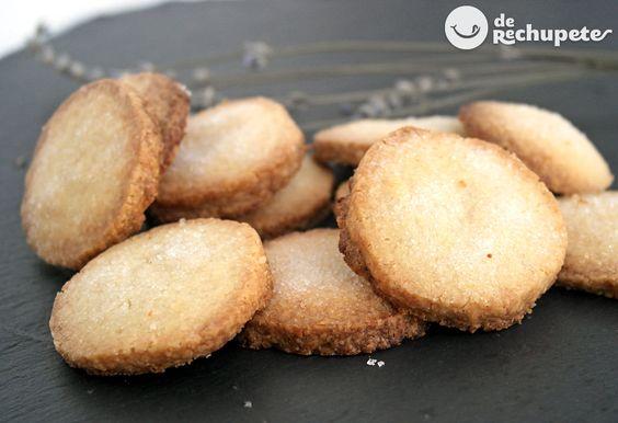 galletas de mantequilla. Las he preparado y están buenísimas y son muy faciles de hacer.