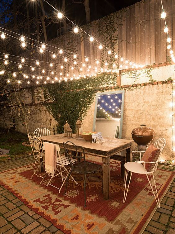 Home decor 10 times string lights made the space for 7p decoration