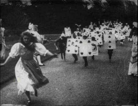 1903: The first Alice in Wonderland movie ever made. Shot on 35mm film, it was only nine minutes long and silent.