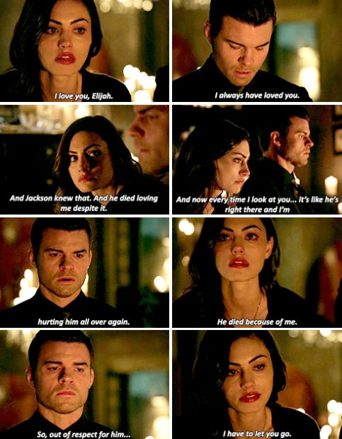 #TheOriginals #3x15 - Well that seems like the right thing to do. You know, I tried that myself. Didn't work.