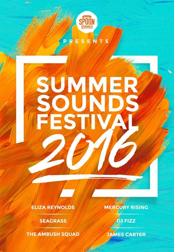 How To Create a Summer Music Festival Poster Design in Adobe Photoshop