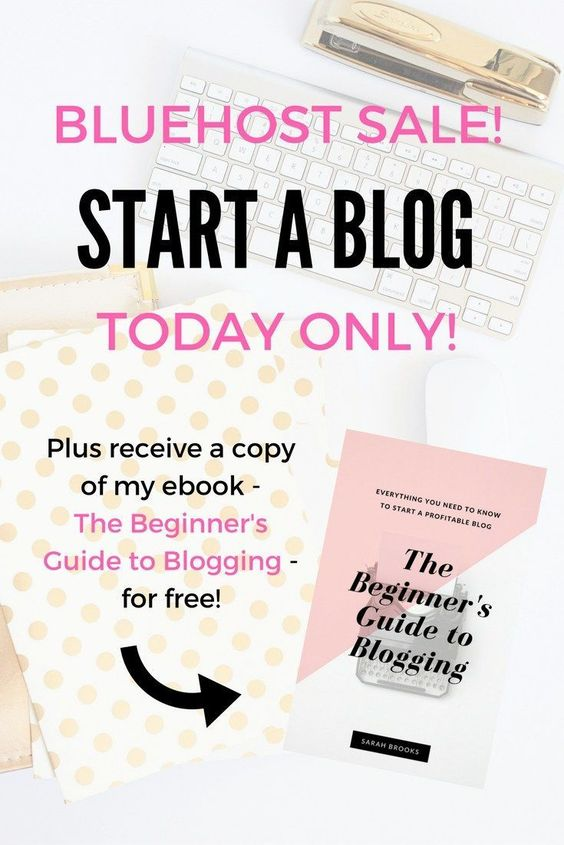 Bluehost sale TODAY only! Now is your chance to start a profitable blog at a HUGE DISCOUNT! Blogging has changed my life;… http://itz-my.com