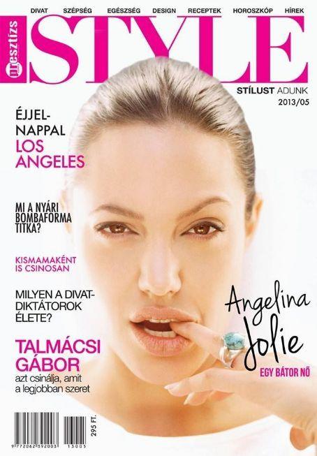 Angelina Jolie - Style Magazine Cover [Hungary] (May 2013)