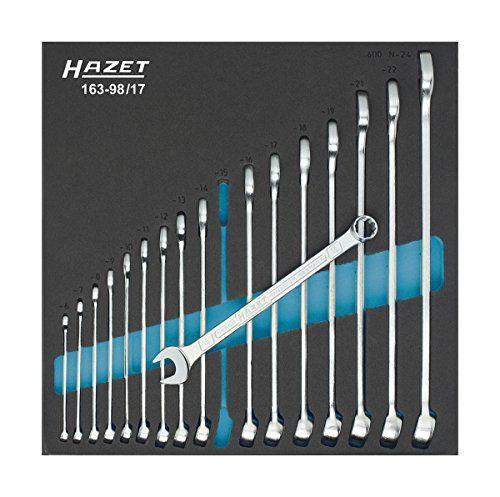 HAZET 163-98/17 Ring-MaulSchlüssel-Satz - http://autowerkzeugekaufen.de/hazet/hazet-163-98-17-ring-maulschluessel-satz
