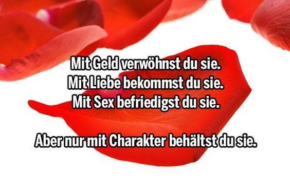 Geld - Liebe - Sex - Charakter
