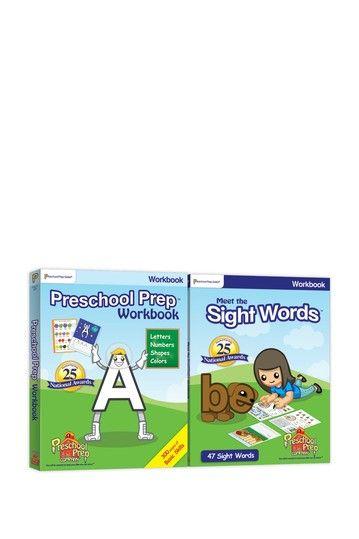Workbook Pack by Preschool Prep Company on @HauteLook