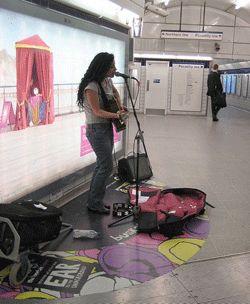 street musician - equipment for  Busking
